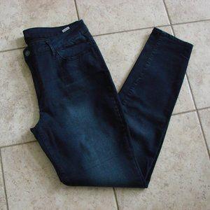 ABS Dark Wash Straight High Waist Denim Jeans NWOT